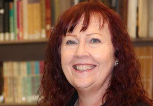 Archivist Maureen Russell