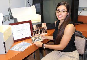 Jessie M. Vallejo, recent ethnomusicology graduate