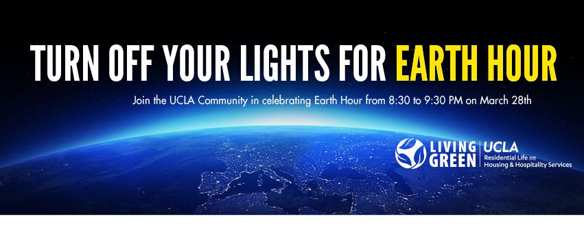 Earth Hour at UCLA