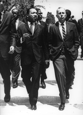 MLK and UCLA Chancellor Franklin Murphy