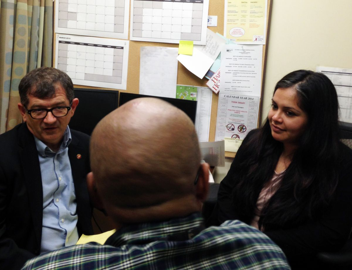 Law school Veterans clinic