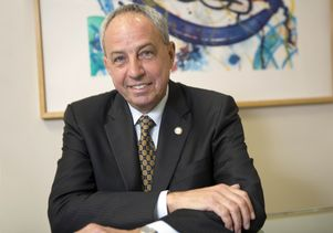 Dr. John C. Mazziotta, vice chancellor for UCLA Health Sciences, dean of the David Geffen School of Medicine at UCLA and CEO of UCLA Health