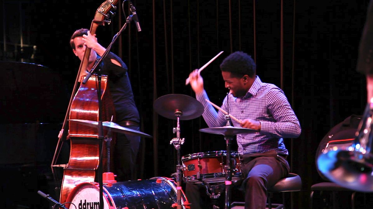 Monk jazz performs at Schoenberg