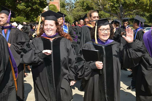 School of Law commencement 2015