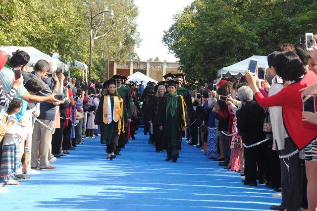 2015 graduating class from the David Geffen School of Medicine at UCLA