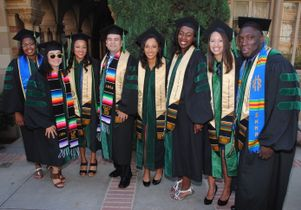 Click to open the large image: 2015 graduates of the David Geffen School of Medicine at UCLA