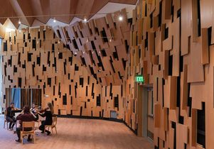 Evelyn and Mo Ostin Music Center interior