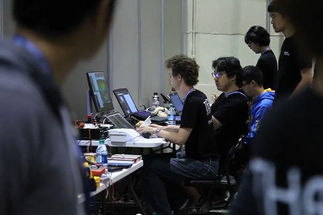Team THOR on computers - John VW
