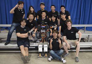 Dennis Hong and Team THOR