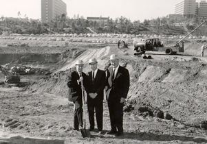Pauley Pavilion groundbreaking 1964