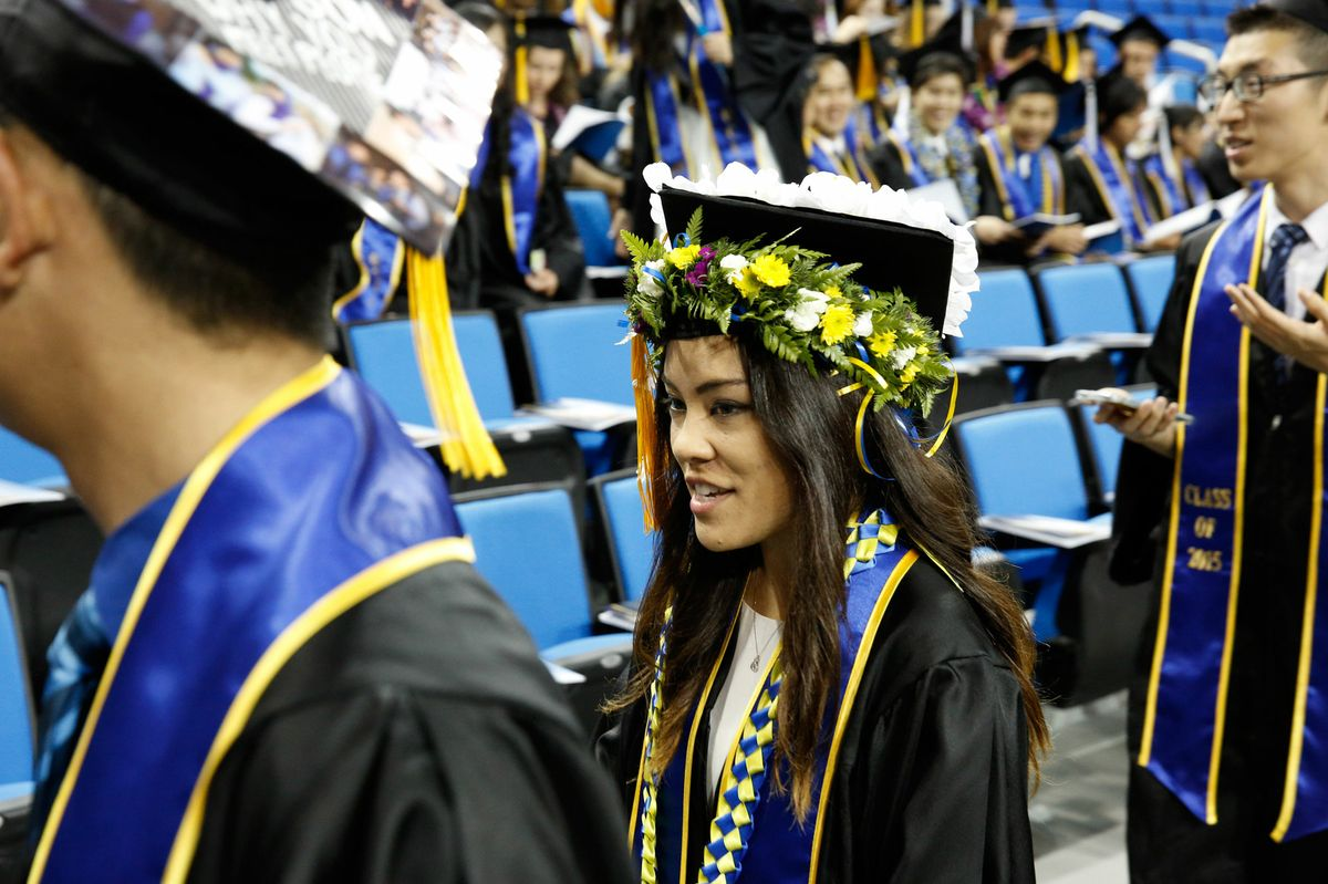Commencement 2015 style