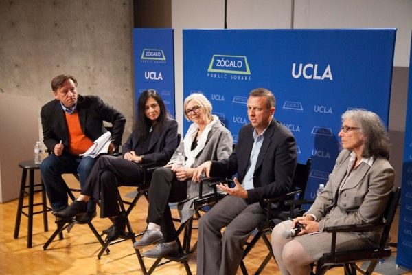Gentrification panel at a UCLA-Zocalo event
