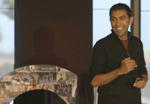 Click to open the large image: Neil Garg at TEDxUCLA