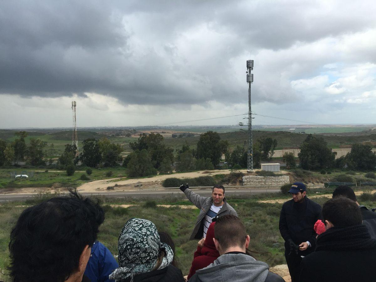 Olive Tree Initiative trip to Sderot, Israel