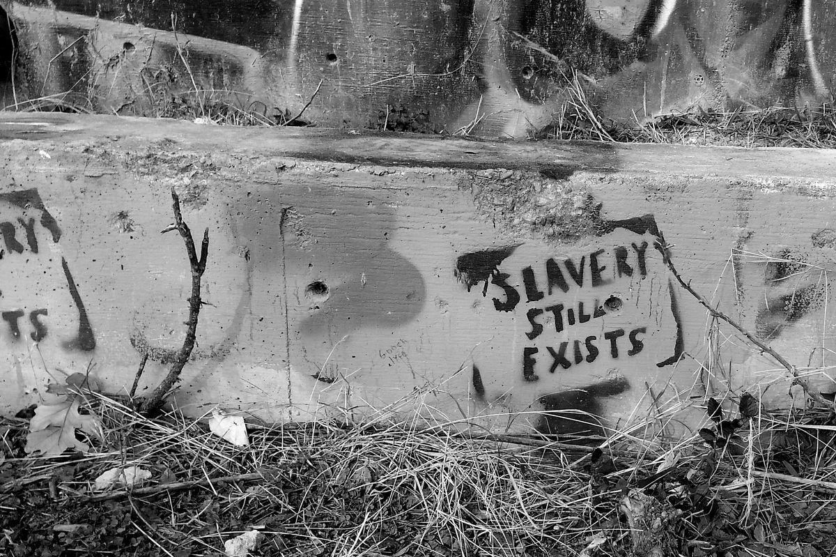 Slavery graffiti