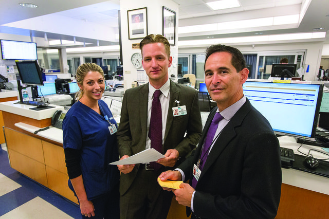 Stephanie Hice, Mark Mayes and Dr. Daniel Vigil