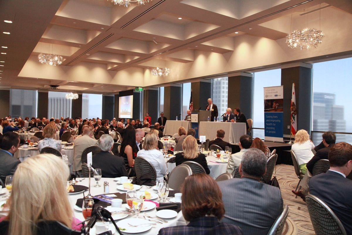Panel discussion co-hosted by the UCLA Cener for World Health and the LA5 Rotary Club