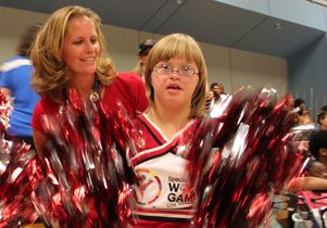 Gena Mitchell and daughter, Devin, 12.