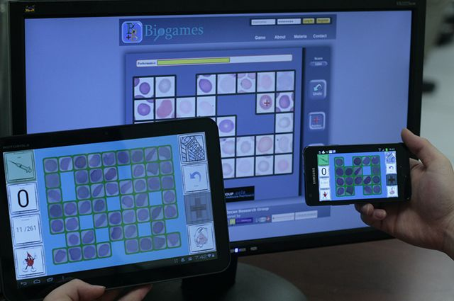 BioGames Interface
