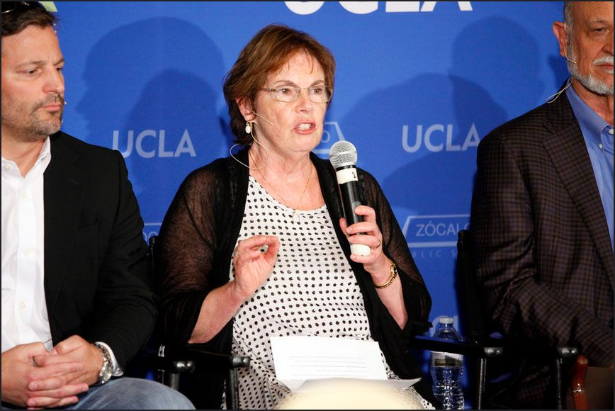 Eric Hoek and Madelyn Glickfeld of UCLA
