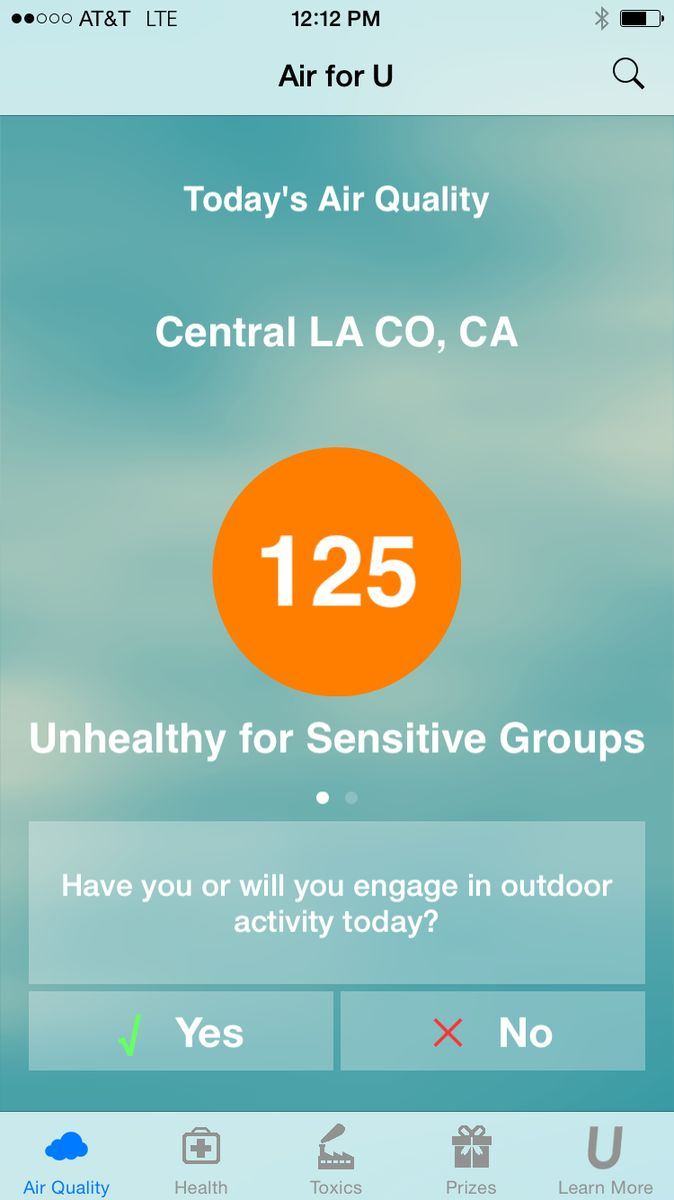 New app lets you check air quality as easily as checking the