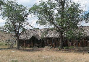 Photo of housing at Camp Tule Lake