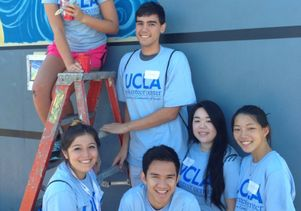 Click to open the large image: UCLA Volunteer Day 2014