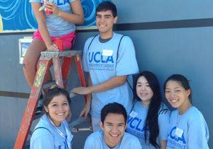 UCLA Volunteer Day 2014