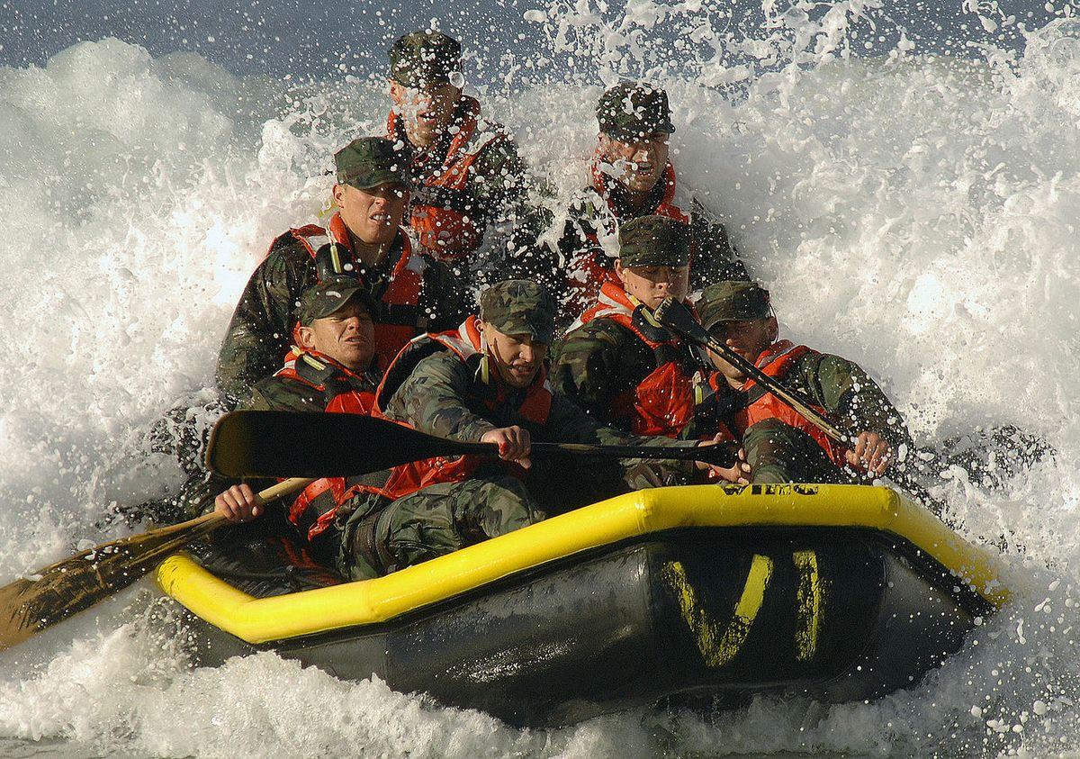 U.S. Navy basic underwater demolition SEAL training