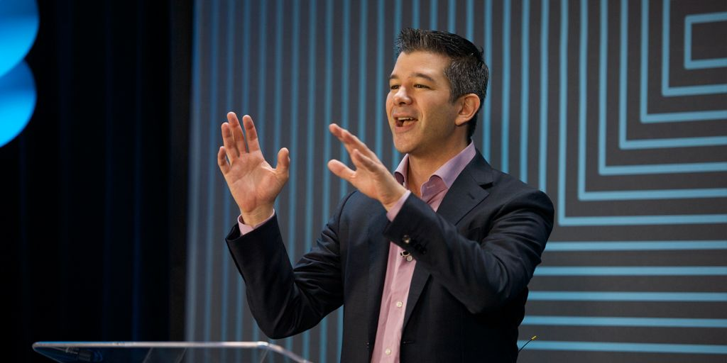 Travis Kalanick speech