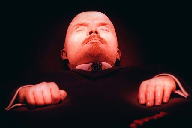 Vladimir Lenin's body