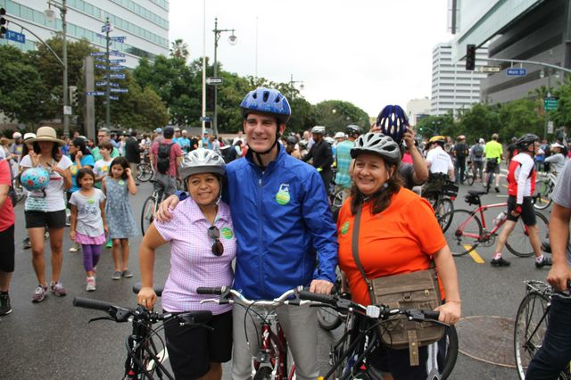 CicLAvia and Mayor Garcetti