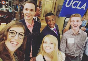 Click to open the large image: Big Bang Theory scholars