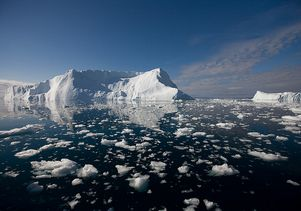 Click to open the large image: greenland glacier