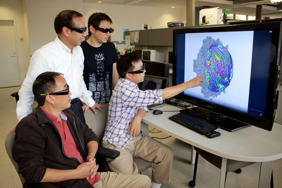 Zhou team 3-D glasses