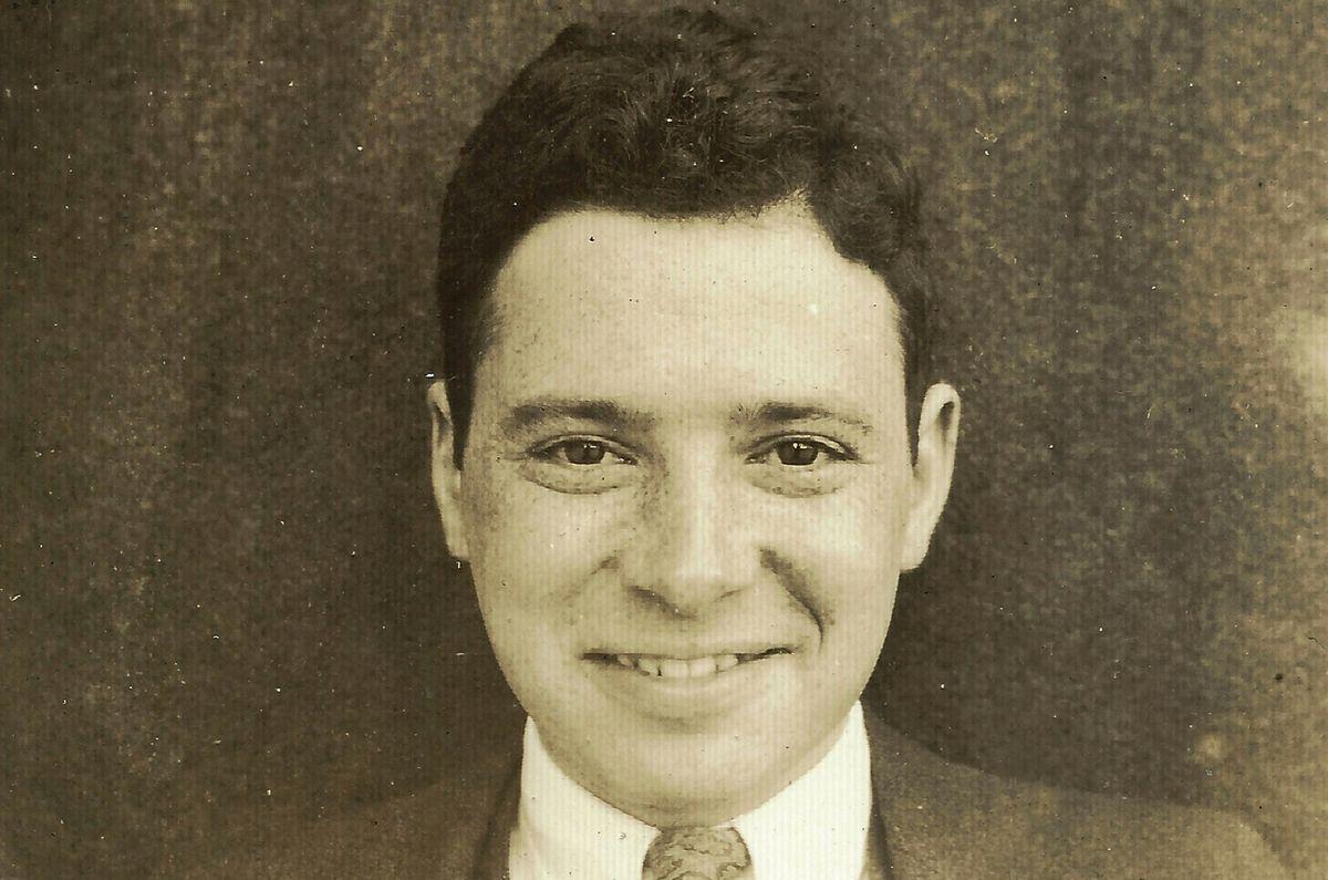 A young Robert Finkelstein