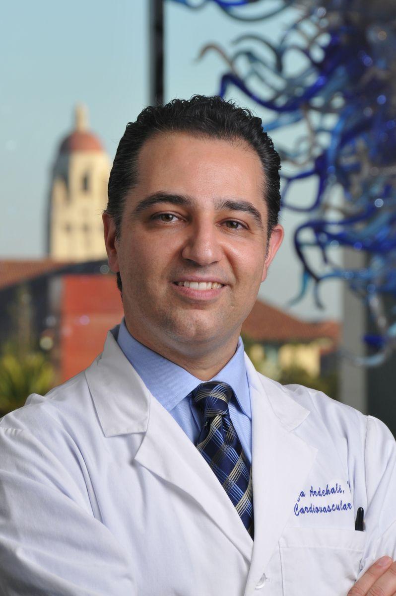 Reza Ardehali headshot