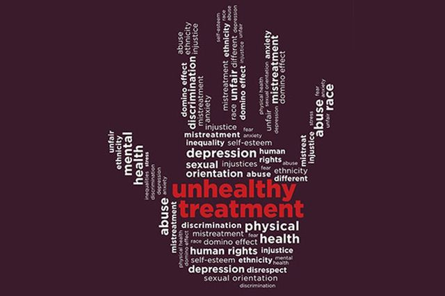 Image for story on effects of discrimination on mental health
