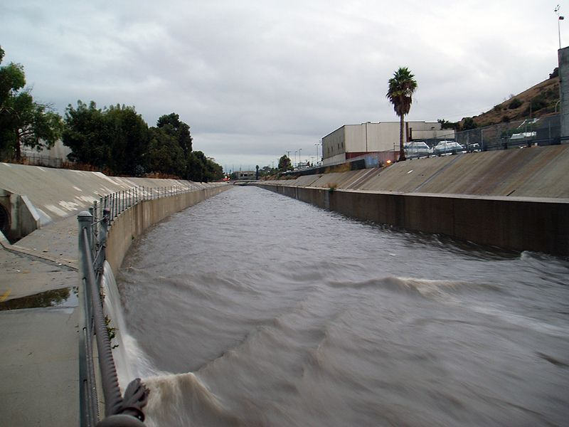 Ballona Creek rain