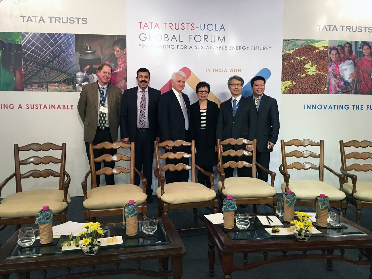UCLA delegation to the UCLA Tata Global Forum