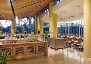 UCLA dining hall