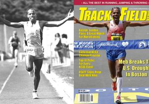 Meb Keflezighi at UCLA and Track & Field Magazine