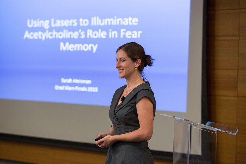 UCLA Ph.D. student Sarah Hersman