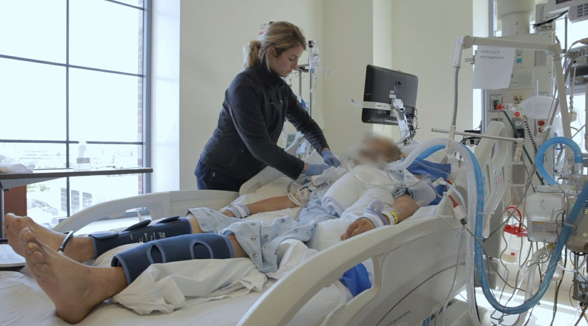 UCLA hospital volunteers ensure that no patient dies alone | UCLA