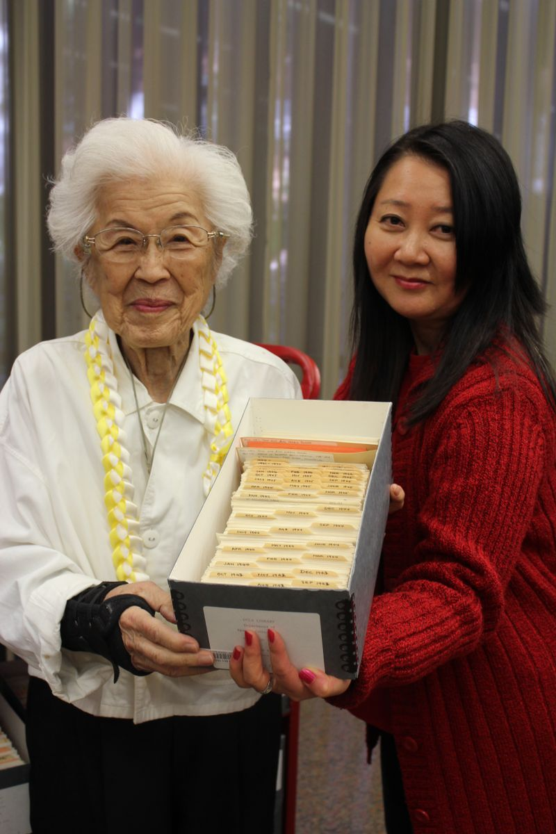Aiko Herzig-Yoshinaga and Martha Nakagawa
