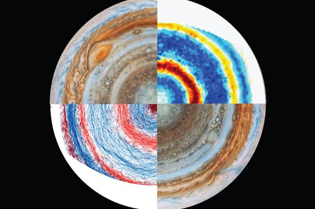 Jupiter and lab images