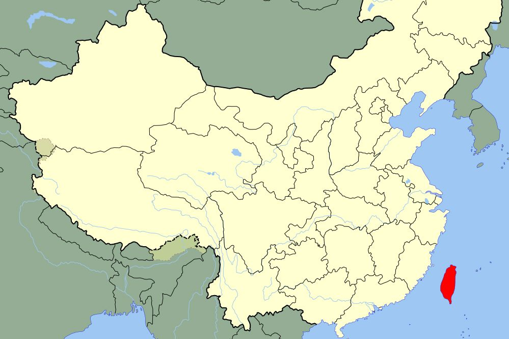 Map Of China And Taiwan UCLA faculty voice: The One China policy benefits China, Taiwan