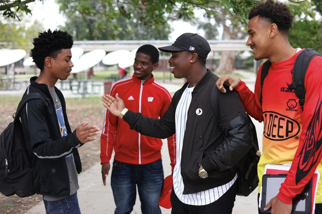 Young black men