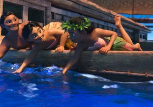 """Click to open the large image: Scene from the movie """"Moana"""""""