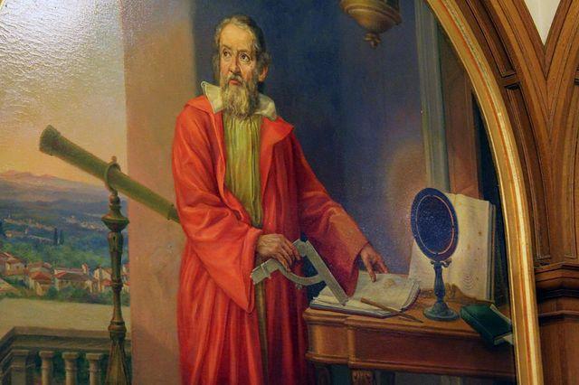 Galileo mural